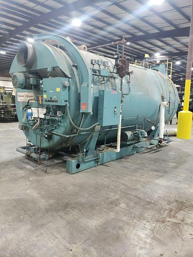 Used 2000 Cleaver Brooks  CB200-500-200 Steam Boiler 500 HP 200 PSI