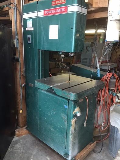 Used Powermatic Model 81- 20″ Bandsaw