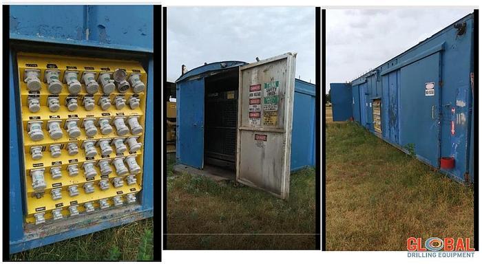 Used Item 0913 – Generator House (2007) Caterpillar Generator Set – KW910