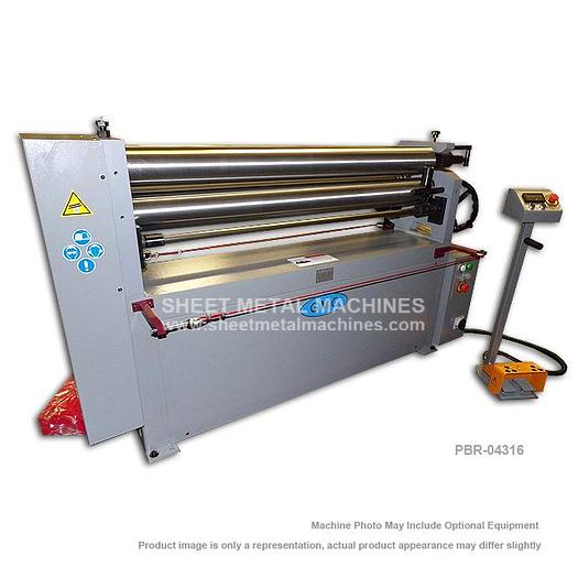 GMC Machine Tools Power Bending Roll PBR-04316