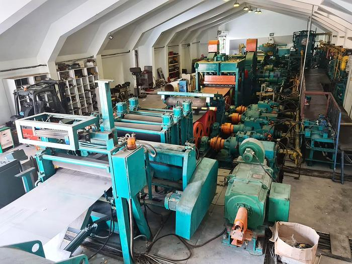 """Used 54"""" BWG Tension Leveling Line: TLL-195"""