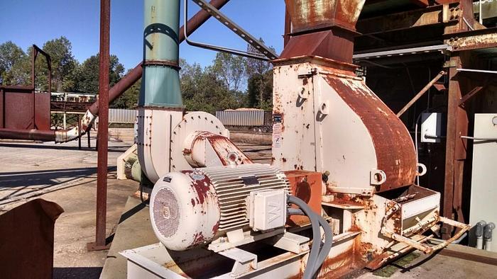Used Schutte Buffalo Model 1590 Hammermill