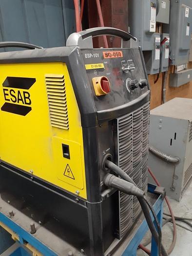 2014 5' x 10' ESAB E-Vent DX 510 Plasma Cutter