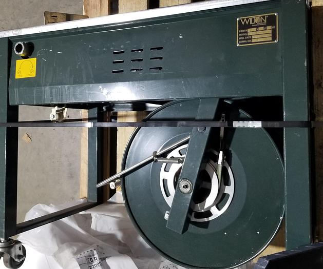 Used Wilton SP-4 Strapping Machine