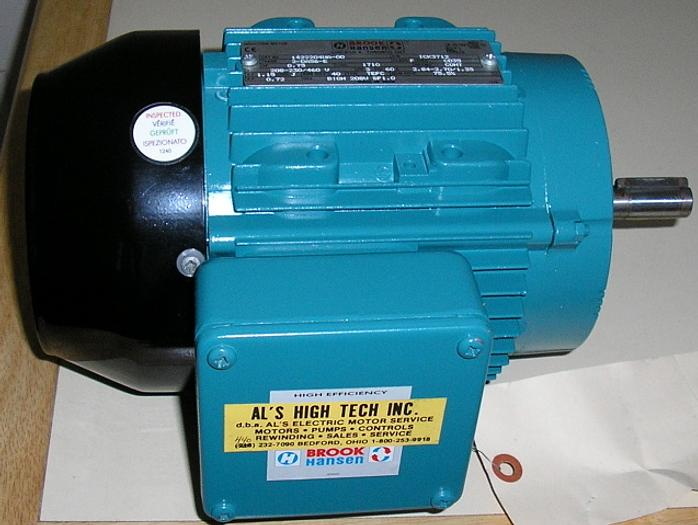 Brook Hansen 3/4 HP Induction Motor