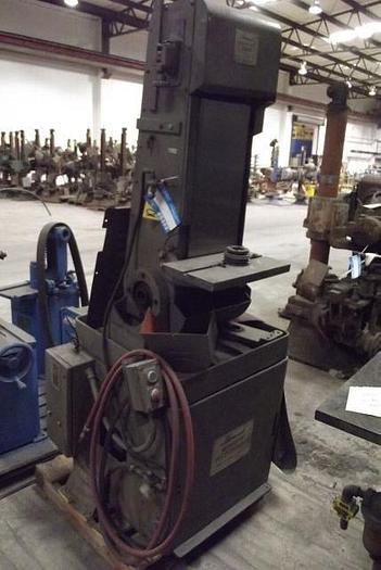 Used Hammond Model 1000-D-8 Abrasive Belt Grinder; S/N 1716