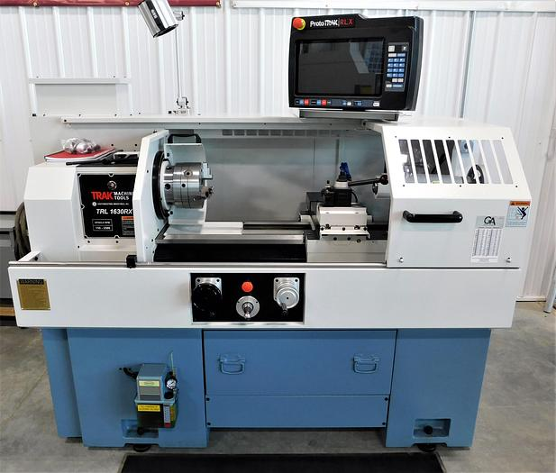 #10206: NEW TRAK Manual/CNC Toolroom Lathe