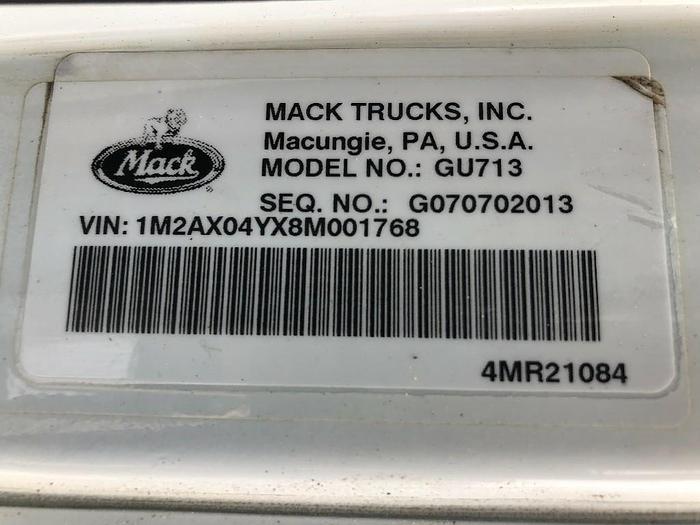 2008 Mack GU713