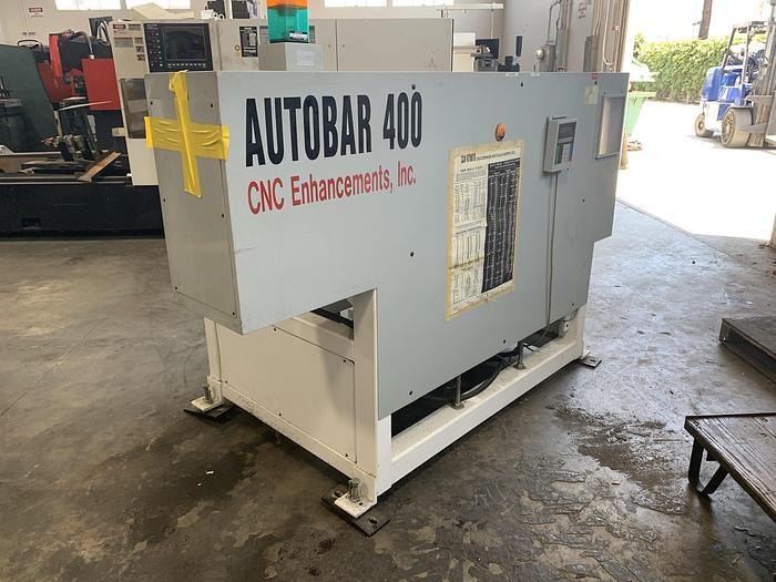 Used 1996 CNC Enhancements AB-400 Automatic Bar Feeder