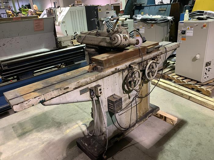 """COLONIAL 36"""" FLAT BROACH GRINDER WIITH MAG CHUCK"""