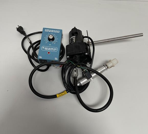 Used Ace Glass  Overhead Stirrer & Dual Motor Control