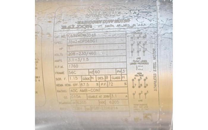 USED COLE PARMER PERISTALTIC PUMP, MASTERFLEX L/S 77200