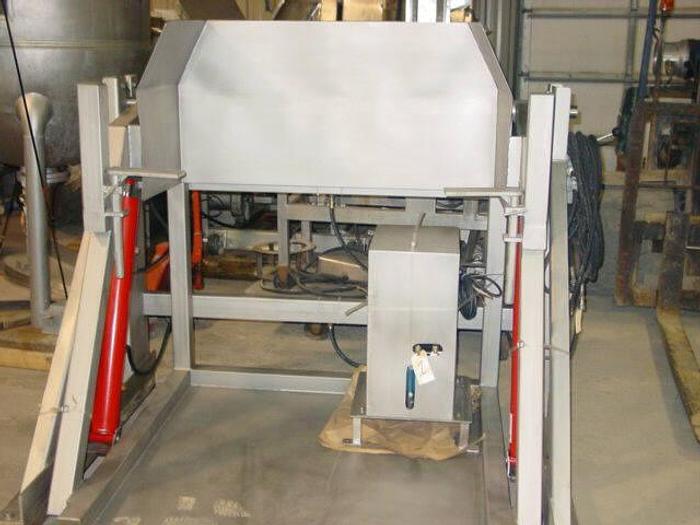 "Used New Stainless Steel Pivot-Style Combo Dumper, 48"" High Pivot"