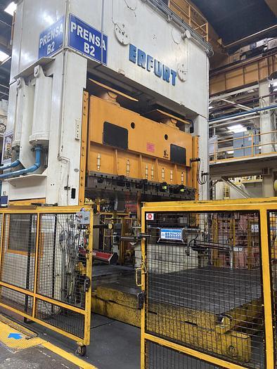 Used 880 ton ERFURT  4000x2500 SSDC Stamping Press