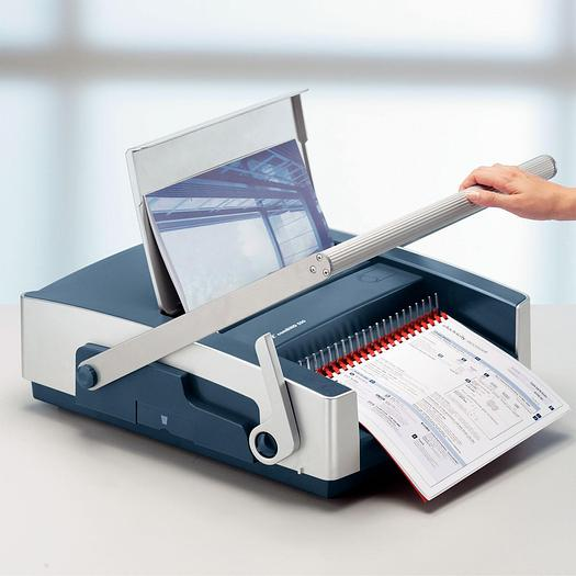 Leitz CB500 Manual Office Comb Binding Machine BNIB - Special Clearance