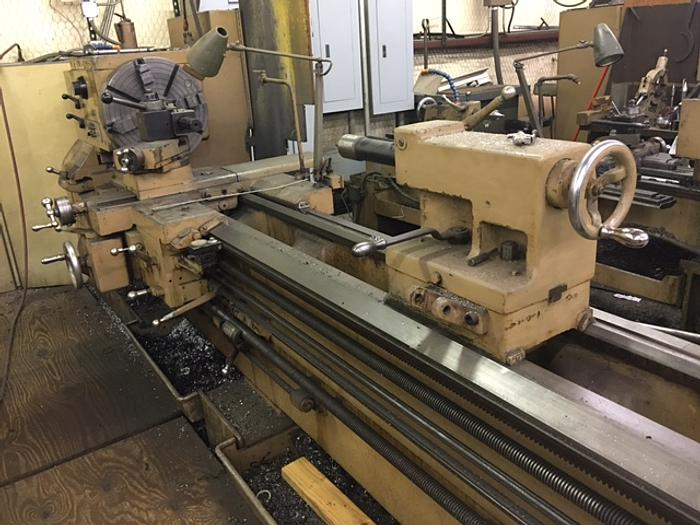 1990 Leblond REGAL Sliding Bed Gap Lathe