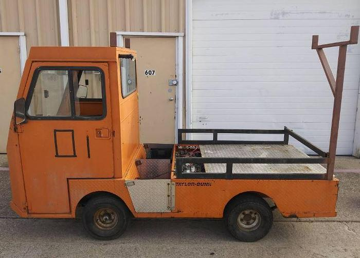 Used Taylor Dunn Flatbed Cart