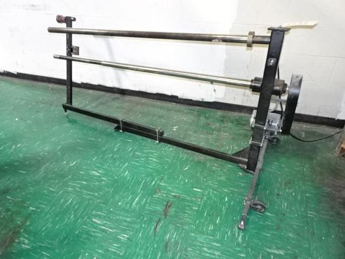 """Used 60"""" PRINT SYSTEMS CO. CORE STRIPPER"""