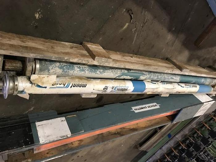 "Used BOWED ROLL MT. HOPE 5""  (127MM) X 112""(2.84M) FACE UNUSED"