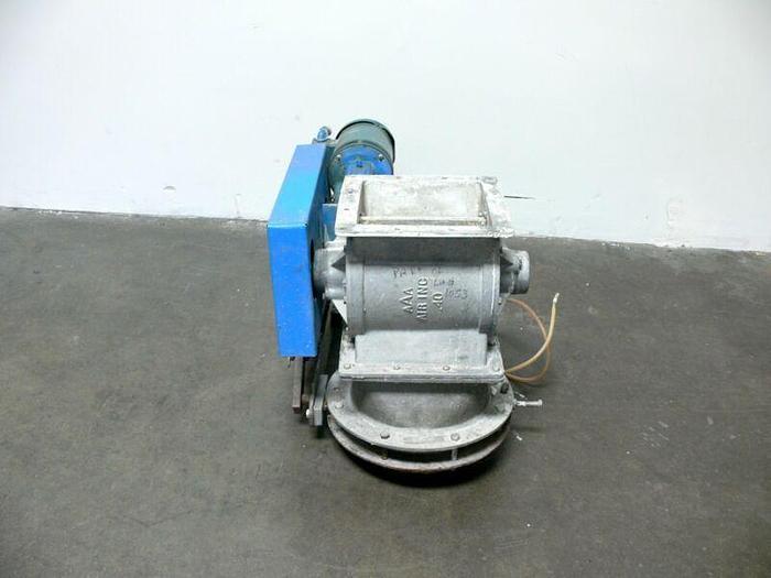 Used Conveyor Systems Mechanical Contractors RV.-4 Powder Hopper w/ 5HP Baldor Motor