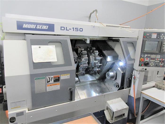 Used 1997 Mori Seiki DL-150MC 7 Axis Lathe