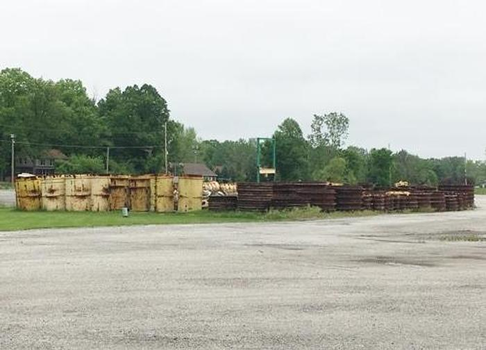 Used Packerhead Precast Pipe Forms and Rings