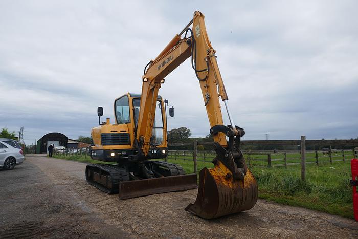 Used 2012 HYUNDAI ROBEX55-9