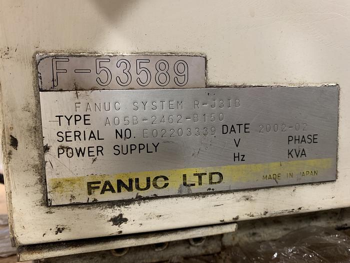 FANUC M6iB 6 AXIS CNC ROBOT WITH RJ3iB CONTROLLER