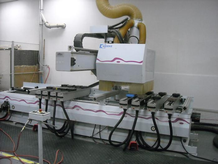 Weeke Model BP140 CNC Router