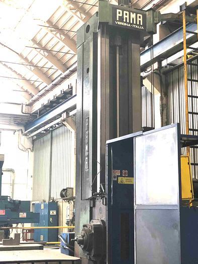 Usata ALESATRICE A MONTANTE MOBILE PAMA AP 130 M CNC