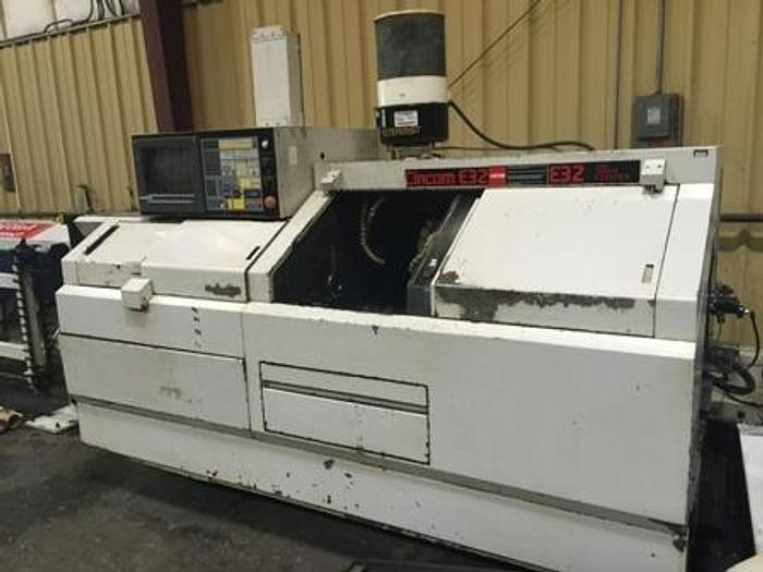 Used 1999 Citizen E-32 CNC Screw Machine | Chip Conveyor,Live Tools, Barfeed