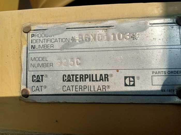 CATERPILLAR 825C