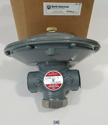 *NEW IN FACTORY BOX* North American 7218-2 D Regulator + Warranty!