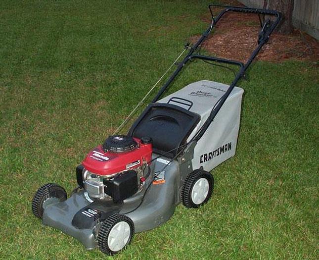 Used Self Drive Lawn mower