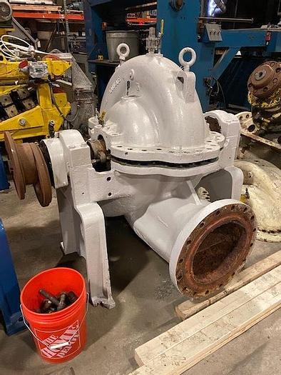 Used GOULDS MODEL 3415M   16 X 18- 22G FAN PUMP
