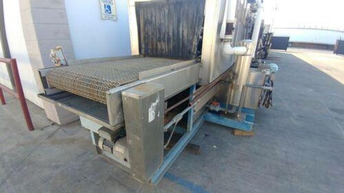 """FJC 30"""" STAINLESS STEEL INDUSTRIAL PASS THROUGH PARTS WASHER"""