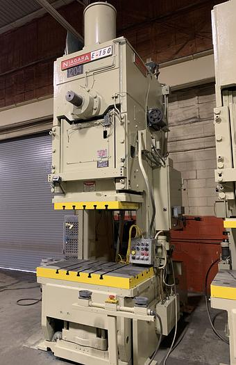 150 ton Niagara Gap Frame Mechanical Press
