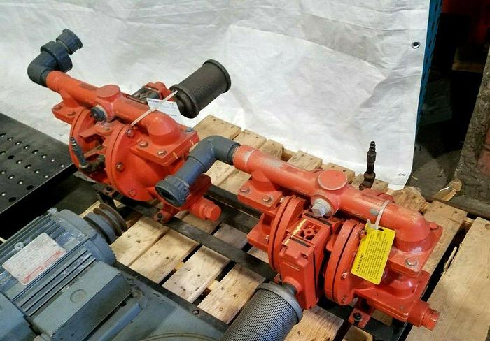 Used Wilden Diaphragm Pump PX20 /AAAA/WFS/WF/AWF/0697 Year 2012 Two Available