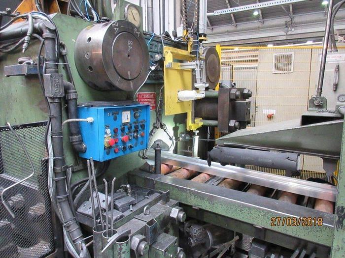 2200 ton Danieli / Breda Aluminum Profile Extrusion Press: EX-491