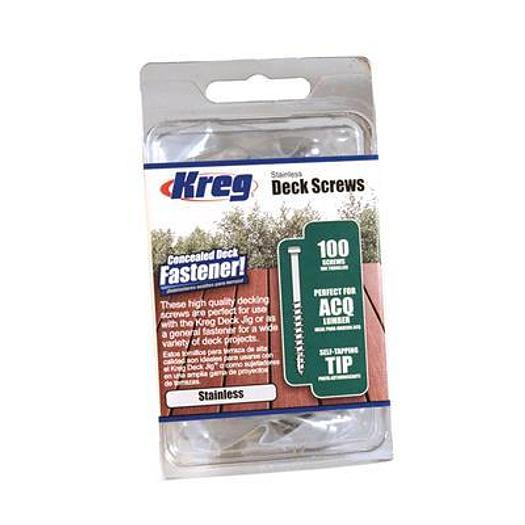Stainless Deck Screws - 100ct.
