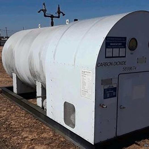 Used 6 Ton Tomco C CO2 Bulk Storage Tank