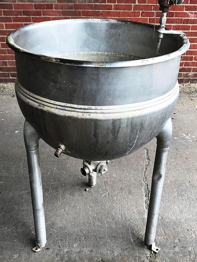 Used 1995 Hamilton Kettles 50 Gallon