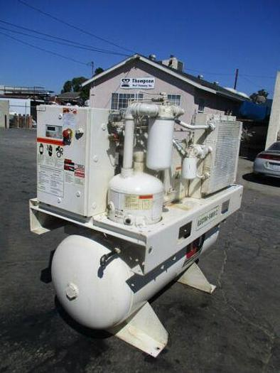 Used 2005 GARDNER DENVER MODEL EBE99N ELECTRA SAVER 20 H.P. AIR COMPRESSOR