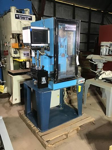 Used 6.9 Ton Worchester High Speed Press