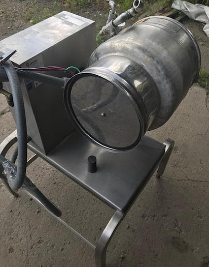 2004 Groen Kettle Used Table Top Hand Tilt 20 Quart Capacity With Stand – Electric TBD-20