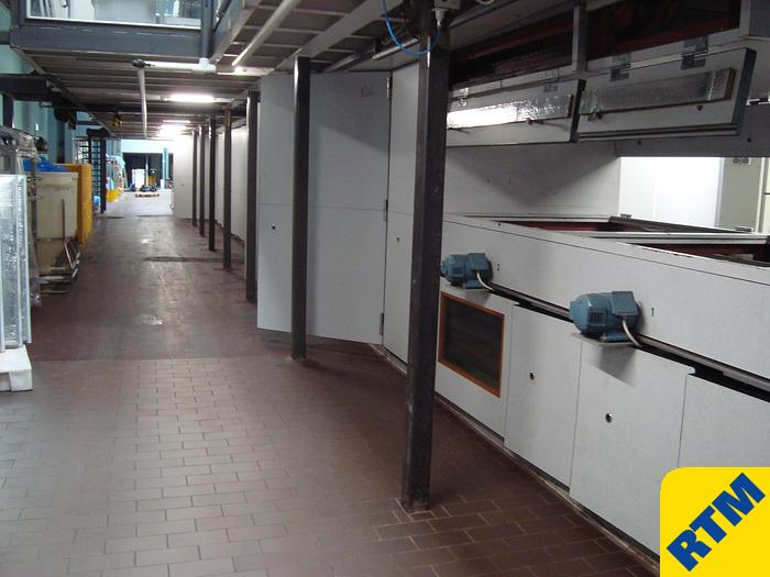 Used Chocolate Moulding Line complete with packaging machinery