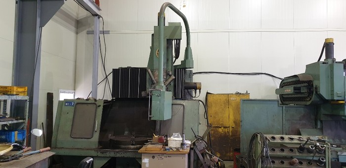 OM  Ltd. TM2 - 10N CNC Vertical Turning Lathe Machine