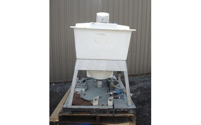 USED DRY POLYMER BATCH MIXER, CAPACITY: 50 USG