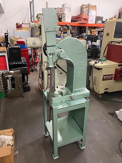 Used Famco 5 Ton Ratchet Type Arbor Press, Model 3 1/2 R #5726