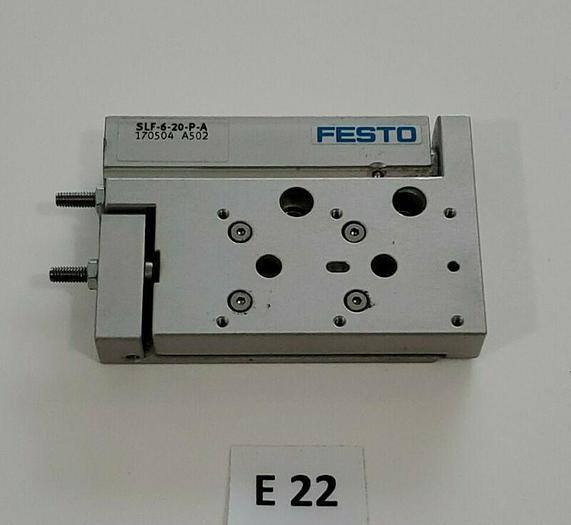 *NEW NO BOX* Festo SLF-6-20-P-A Mini Slide 20mm Stroke 170504 A502 + Warranty!